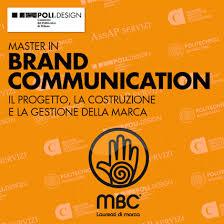Master In Brand Communication Mbc Of The Politecnico Di Milano We Love Italian