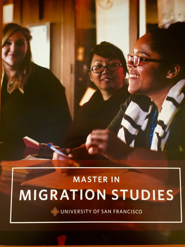 master migration studies SFSU